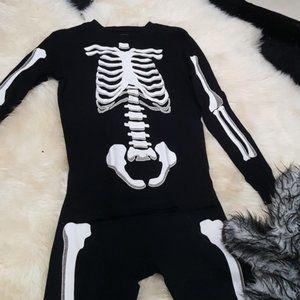 Gap Skeleton Glow-in-the-Dark Pajamas size 14 kids